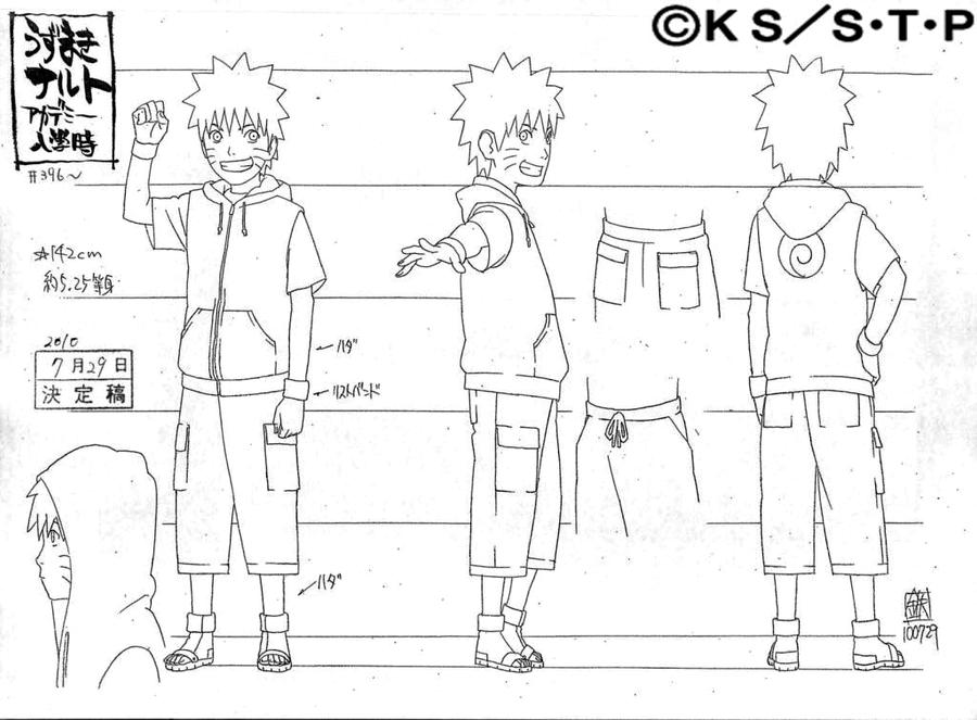 Naruto Character Design Sheet : Naruto by pablolpark on deviantart