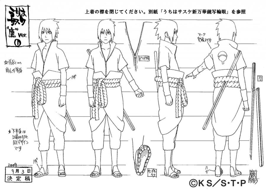 Character Design Career Path : Sasuke costume by pablolpark on deviantart