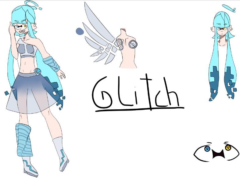 Glitch Concept Art by xZlic3x