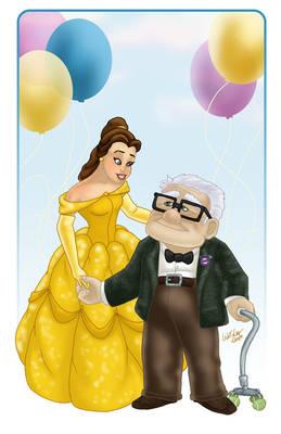 Belle Congratulates Carl