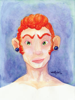 Ginger with Plugs