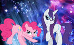 Rarity and Pinkie Pie being sexy
