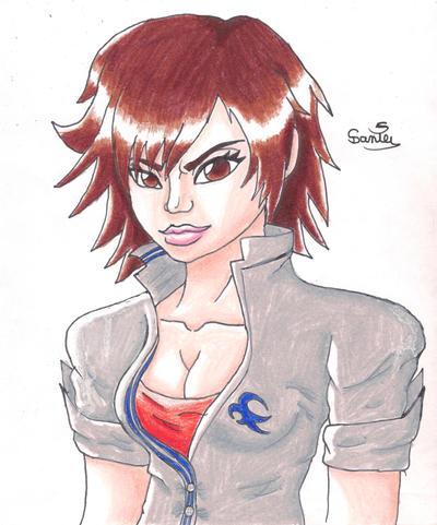 Asuka Kazama by Gakenzi