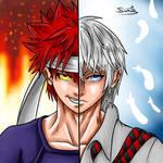Aiming For The First Seat - Yukihira VS Tsukasa