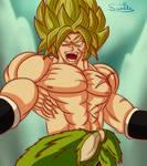 Rage Personified - Full Power Super Saiyan Broly