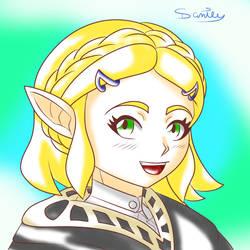 Breath of The Wild 2 - Zelda by Gakenzi