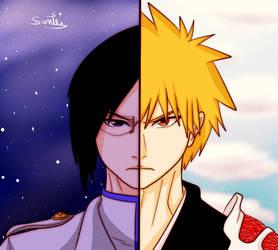 Thousand Year Blood War - Uryu and Ichigo