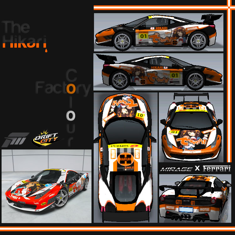 Custom car decals ferrari 458 by aznsync