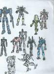 Pacific Rim: Jaegers, assemble! WIP