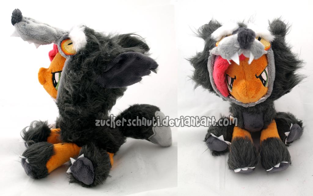 A Wolf! Oh.. no it`s Bad Seed by zuckerschnuti