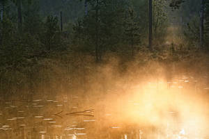 Boiling lake by RobinHedberg