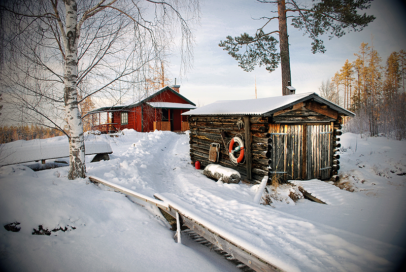 My cabin by RobinHedberg