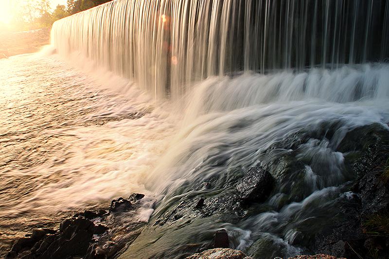Haellen falls by RobinHedberg