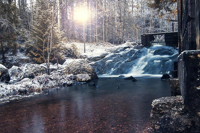 Vaxbo falls II by RobinHedberg