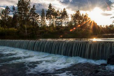 Miniwaterfall by RobinHedberg