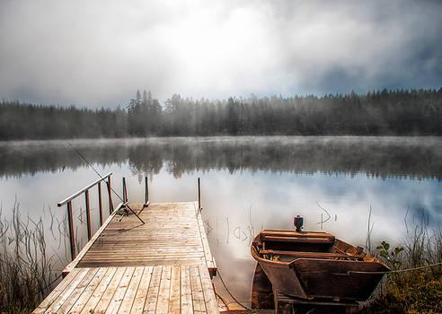 Dock by Regnsjon