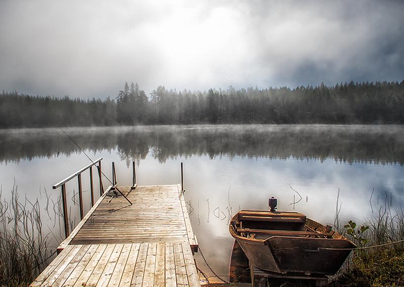 Dock by Regnsjon by RobinHedberg