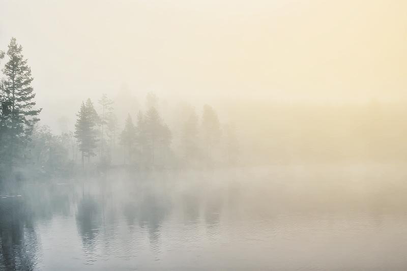 Regnsjon Morning by RobinHedberg