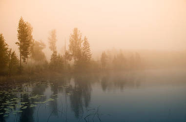 Regnsjon Morning II by RobinHedberg