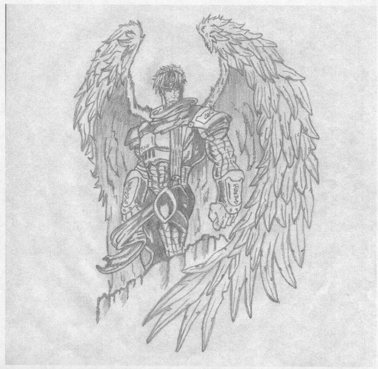 Рисованные архангелы