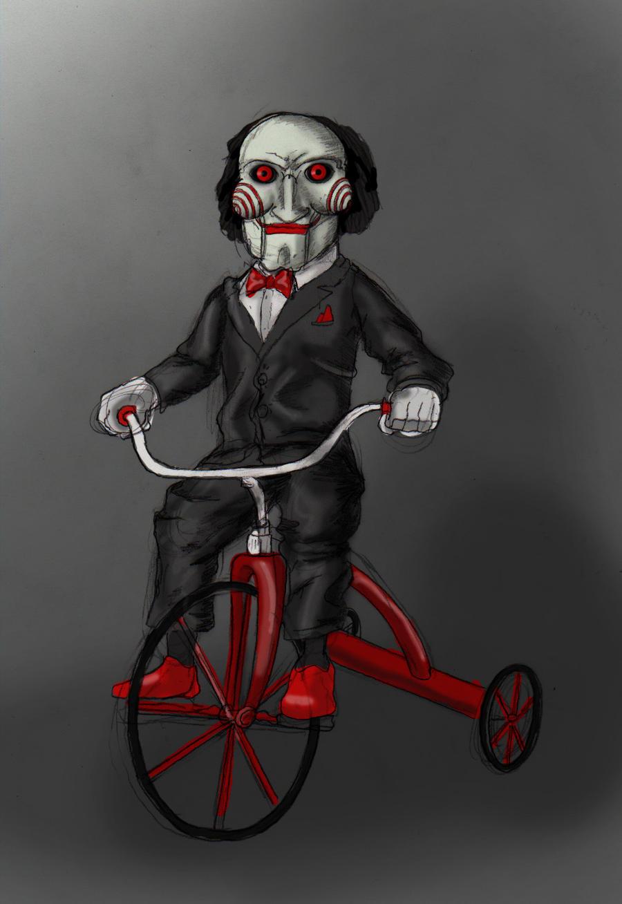 Jigsaw Doll by smthcrim89 on DeviantArt