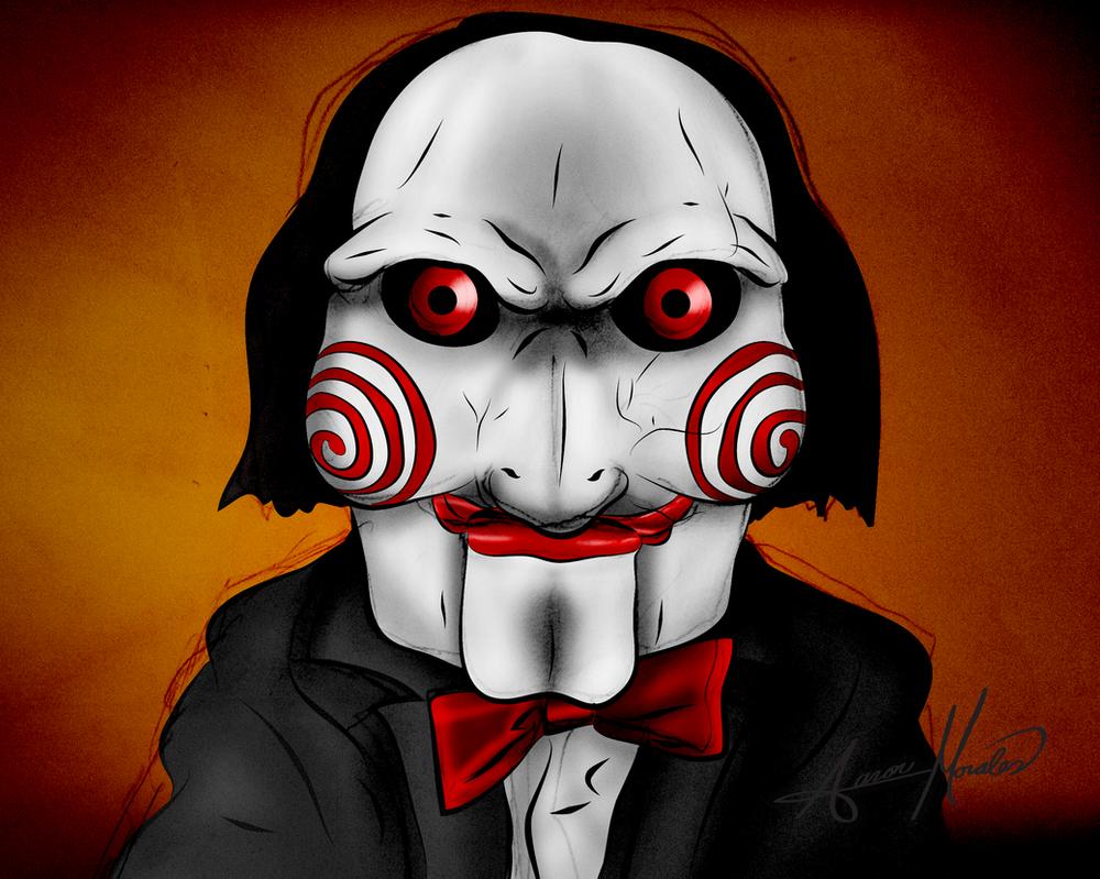 Jigsaw Doll Portrait by smthcrim89 on DeviantArt