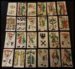 1530 Swiss playing cards set replica