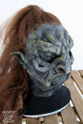 Mossy orc latex mask by Yshara