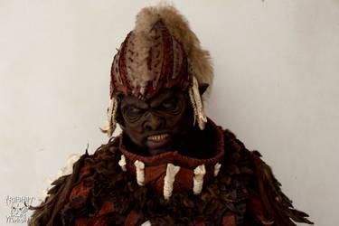 Yshara, the orc LARP costume by Yshara