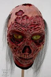 Latex Ghoul mask - Fallout by Yshara