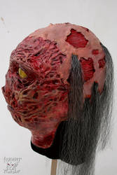 Latex Ghoul mask - Fallout (side view) by Yshara