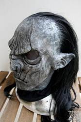 Grey/black orc mask by Yshara