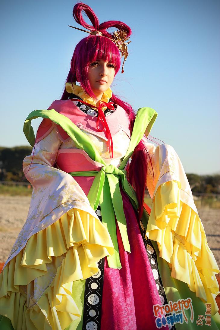 8th Kou Empire Princess: Kougyoku Ren IV by anne-satsuki