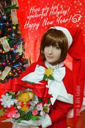 Sakura Kinomoto xmas outfit I
