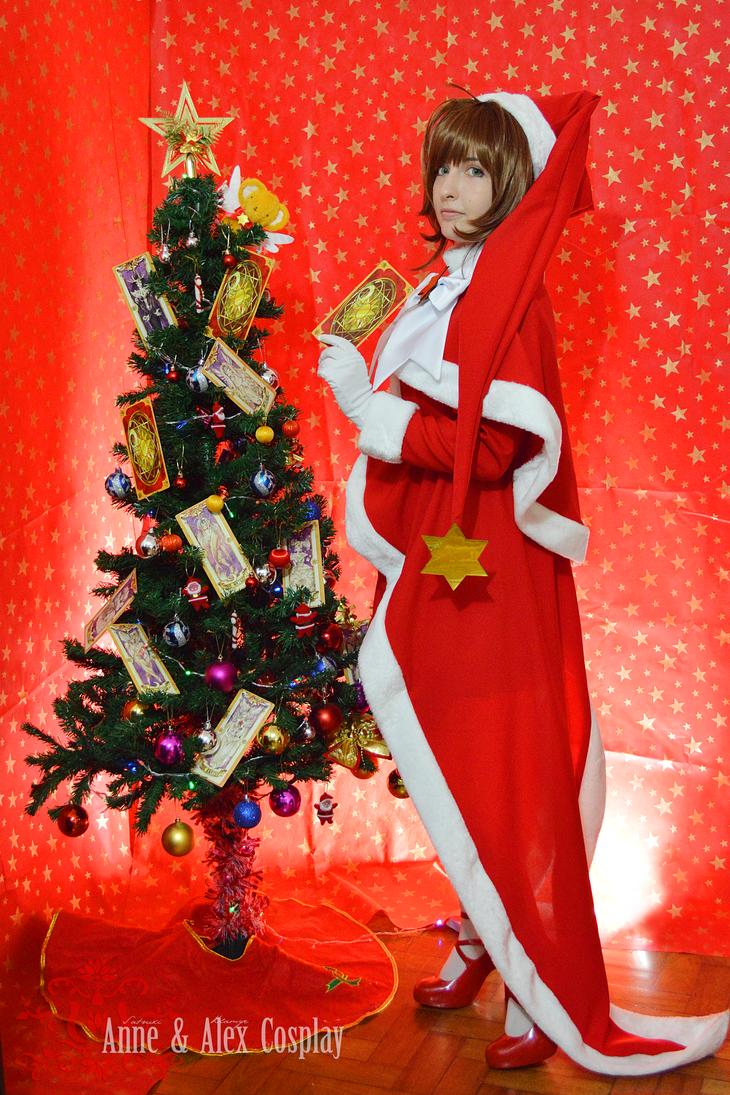 Sakura Kinomoto xmas outfit II by anne-satsuki