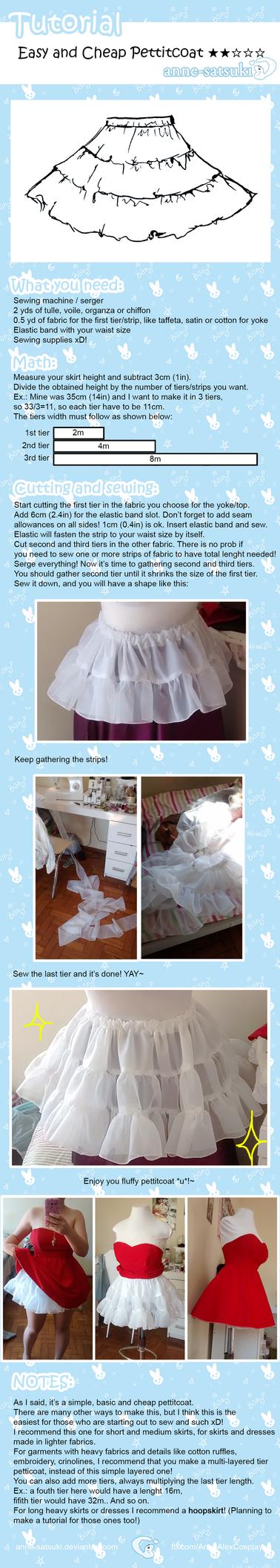 Easy Pettitcoat Tutorial by anne-satsuki