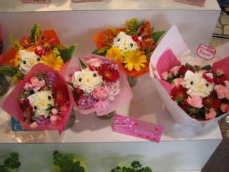 Kitty Flowers by Chiisai-Saru