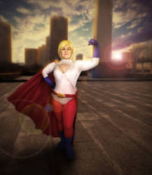 Power Girl by Valkyrie-Ghost