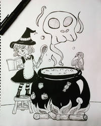 Cooking Witch by Copitix