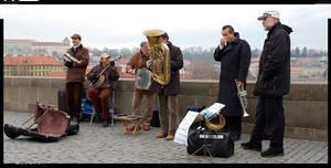 Band in the bridge by deinhard