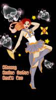 CA~ Shining Sailor Amber Swift Fox by hiddengardenia