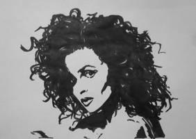 Helena Bonham Carter2 by ArtLucie