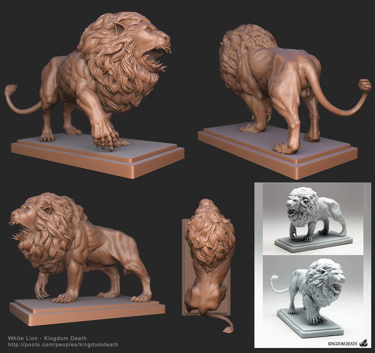 Kingdom Death - White Lion — polycount