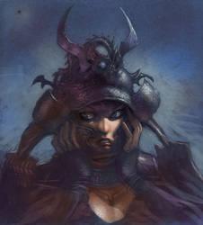samurai girl 2008 by moritat