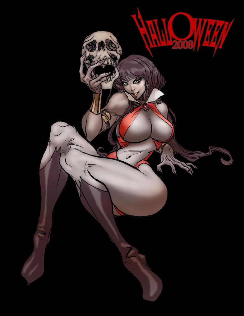 Vampirella nackt hardcore bisexual doll