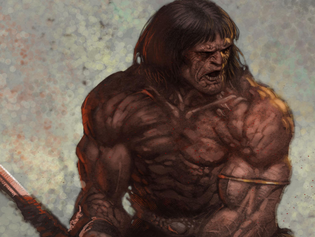 conan the barbarian by moritat