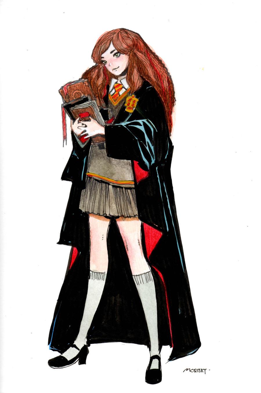 Hermione  Granger by moritat
