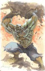 incredible hulk by moritat