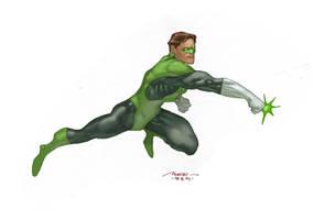 green lantern by moritat