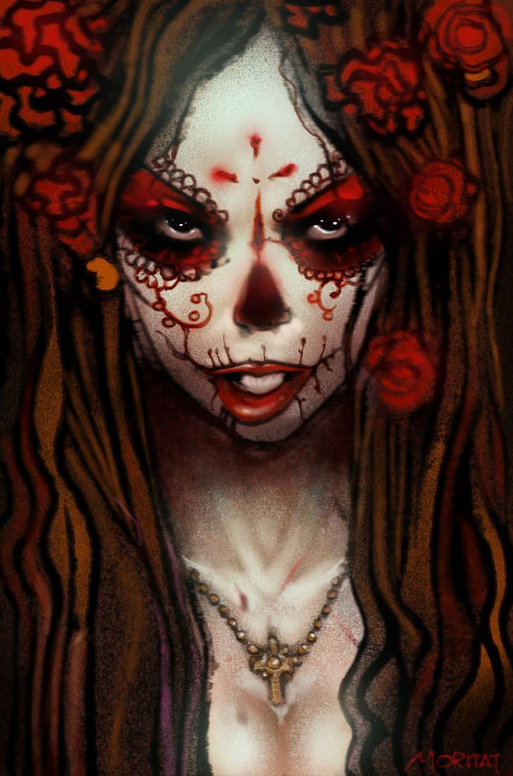 Dia de los Muertos by moritat